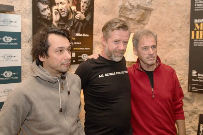 Pavel Liška, Jiří Langmajer, Milan Hein
