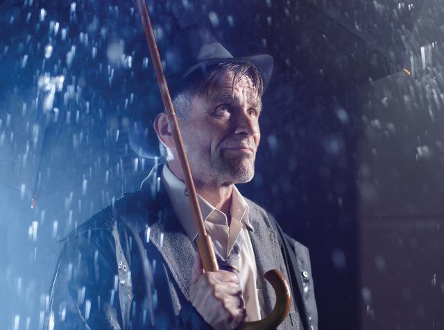 Martin Mejzlík na vizuálu k inscenaci Až ustane déšť (foto: Jan Faukner)